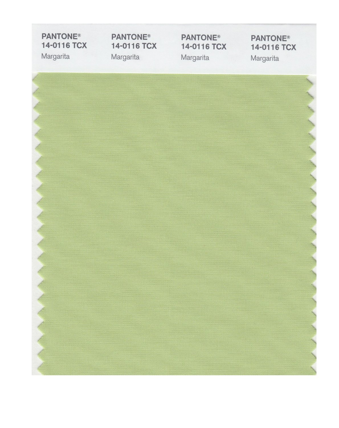 Pantone Smart Swatch 14-0116 Margarita