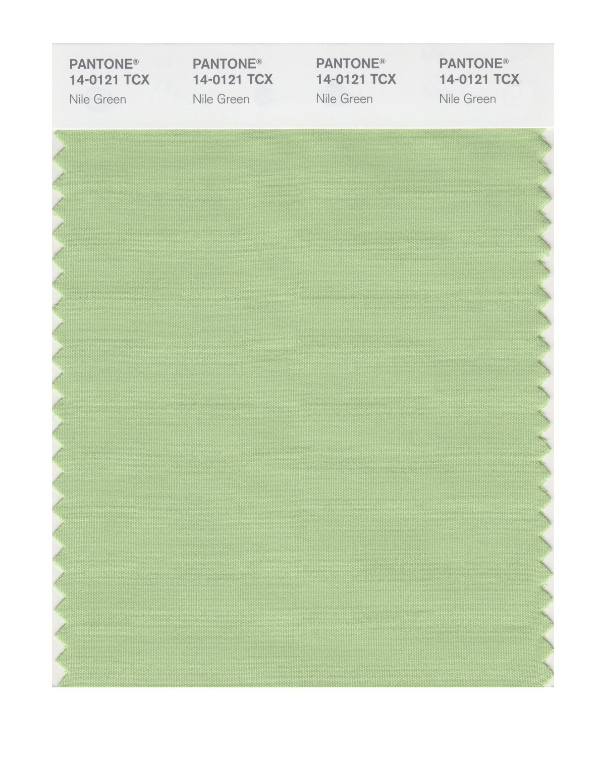 Pantone Smart Swatch 14-0121 Nile Green