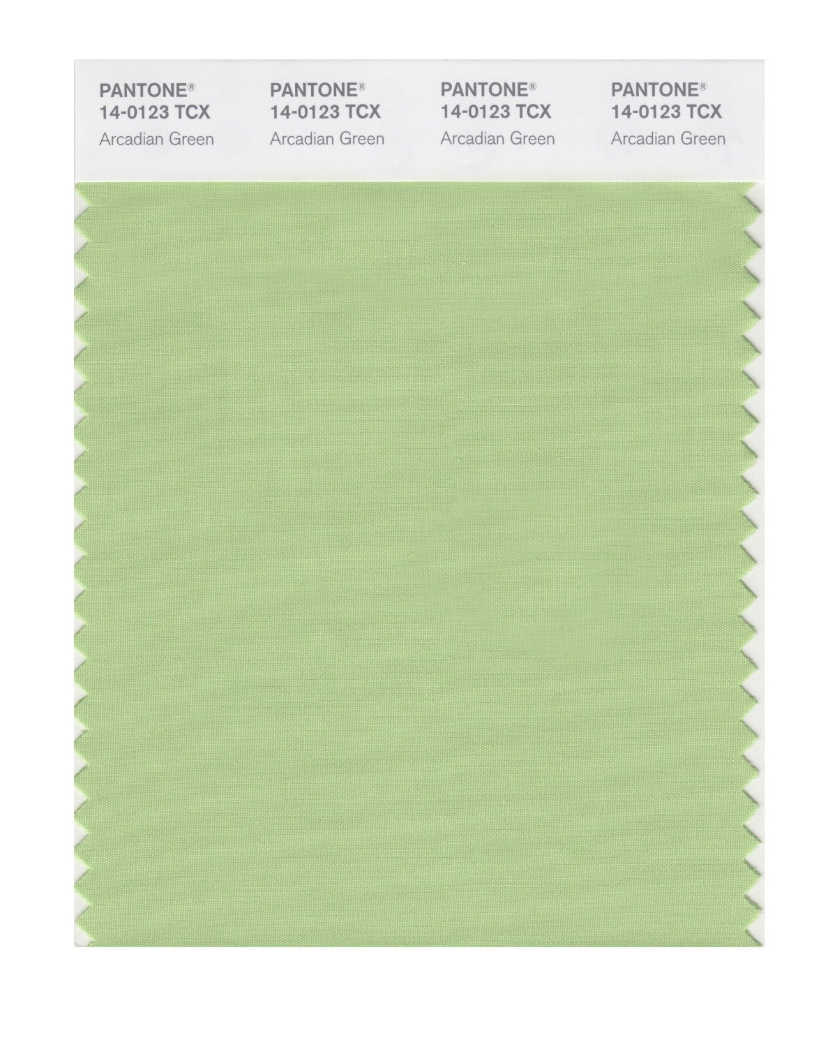 Pantone Smart Swatch 14-0123 Arcadian Green