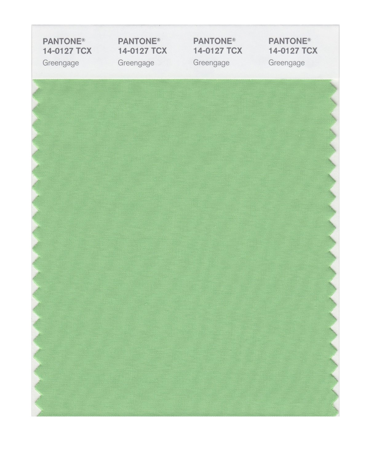 Pantone Smart Swatch 14-0127 Greengage