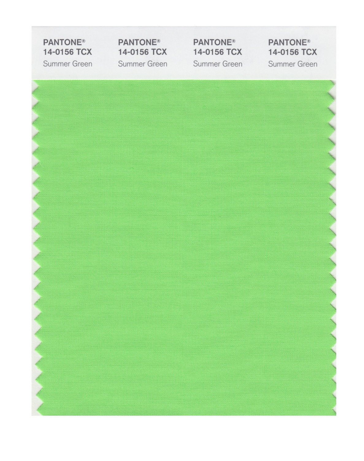 Pantone Smart Swatch 14-0156 Summer Green