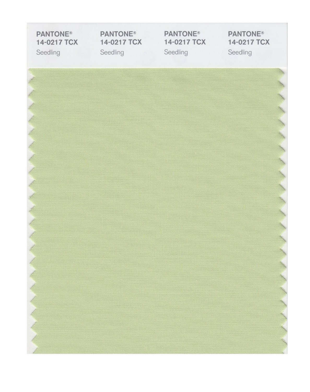Pantone Smart Swatch 14-0217 Seedling