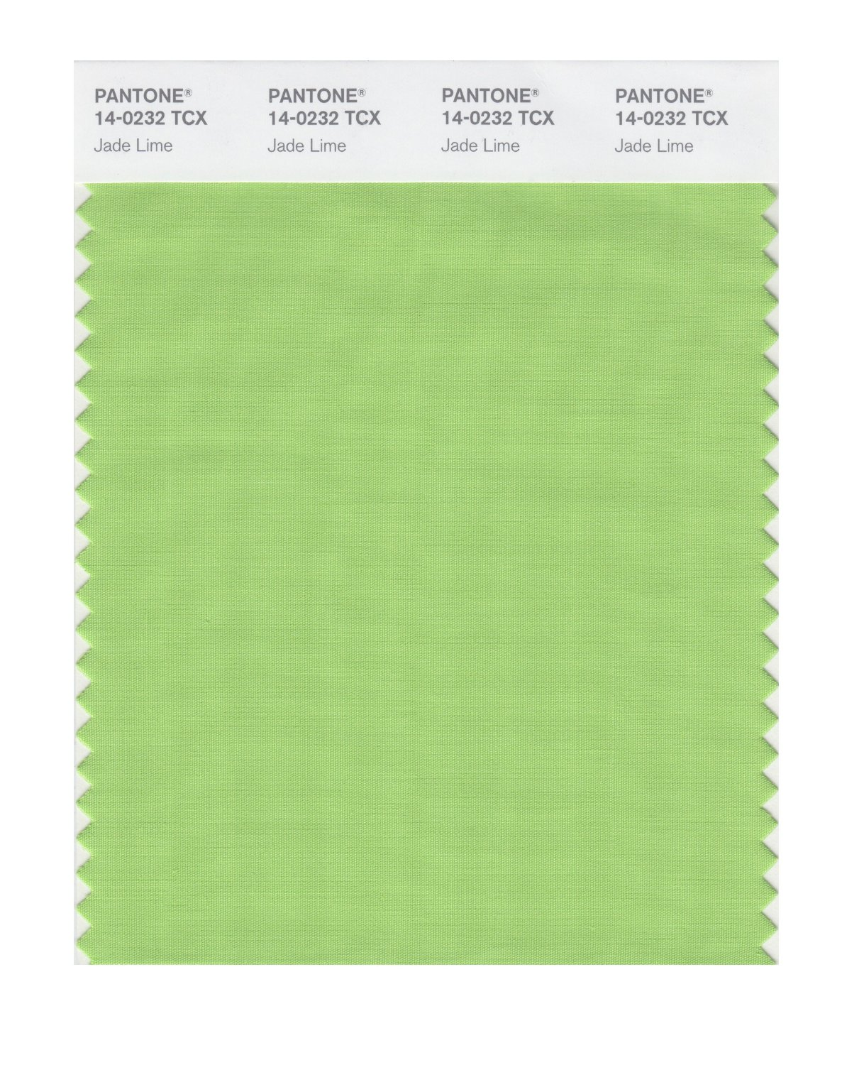 Pantone Smart Swatch 14-0232 Jade Lime