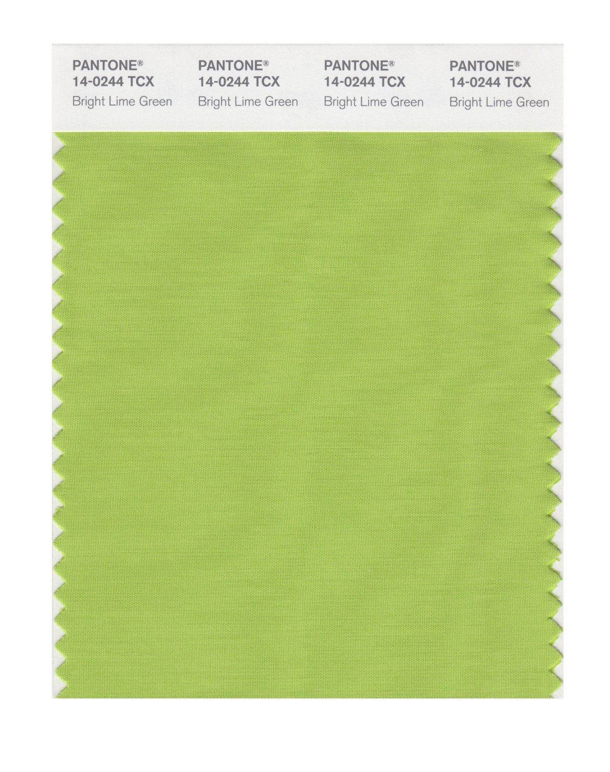Pantone Smart Swatch 14-0244 Brt Lime Green