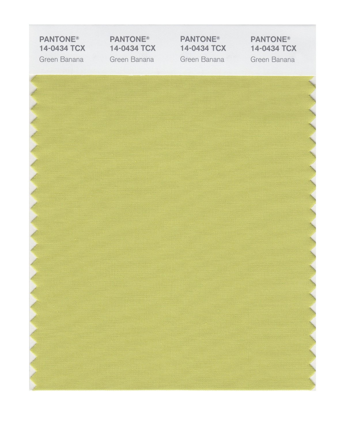 Pantone Smart Swatch 14-0434 Green Banana