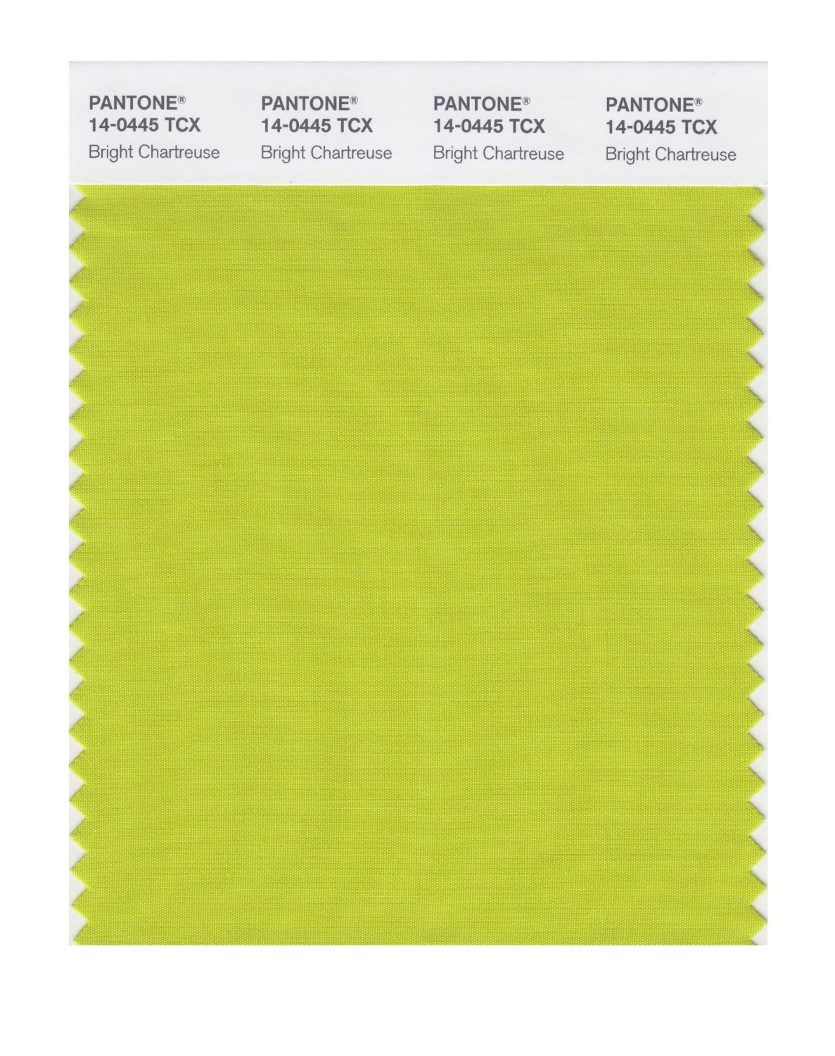 Pantone Smart Swatch 14-0445 Bright Chartreus