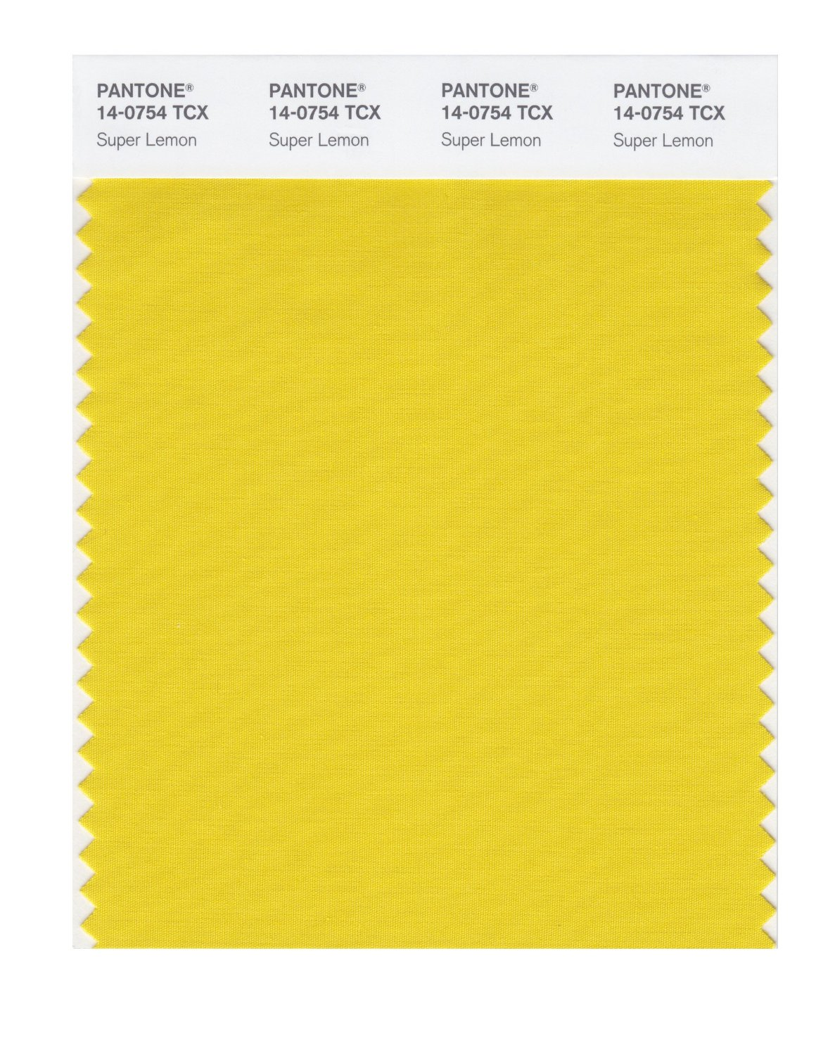 Pantone Smart Swatch 14-0754 Super Lemon