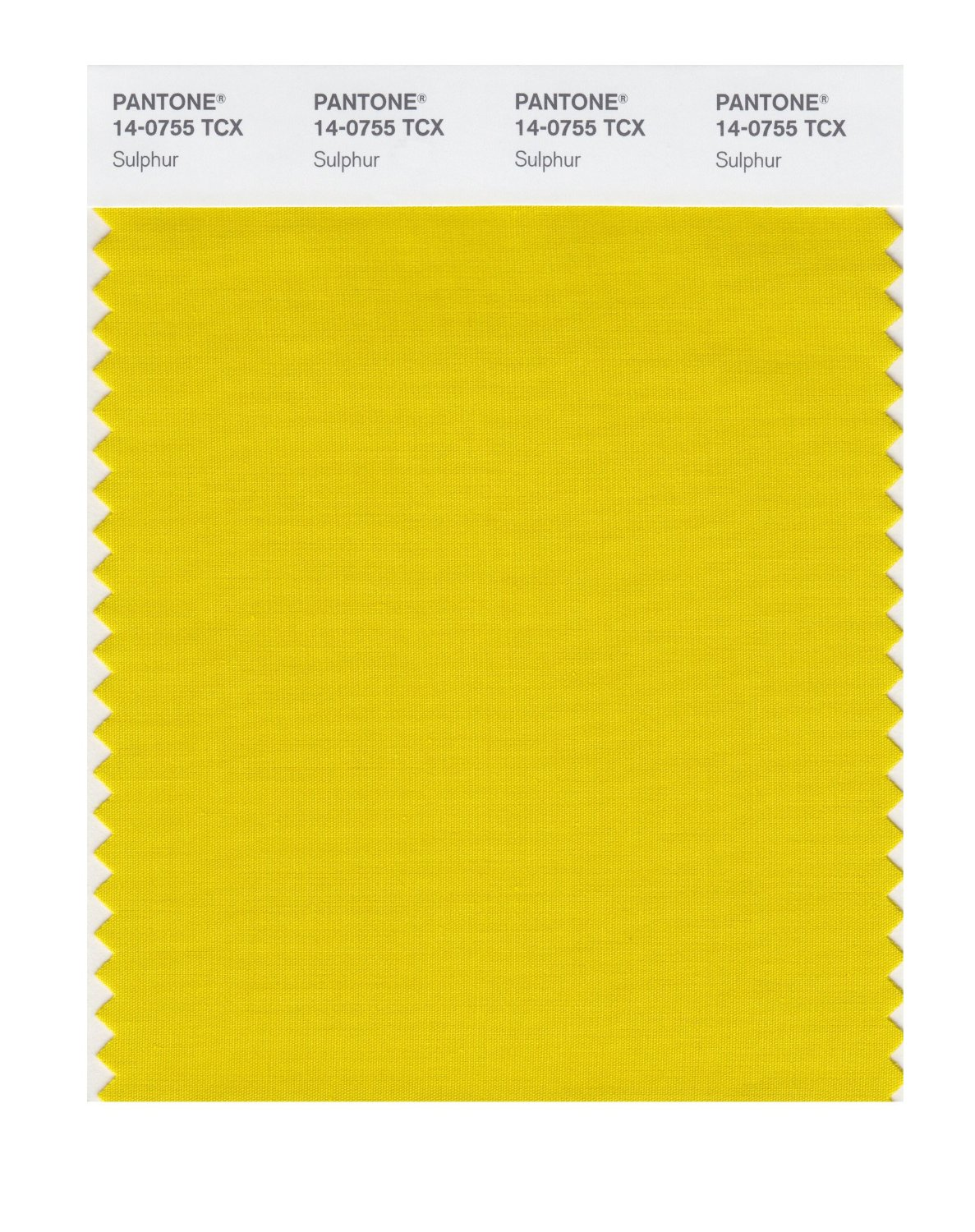 Pantone Smart Swatch 14-0755 Sulphur
