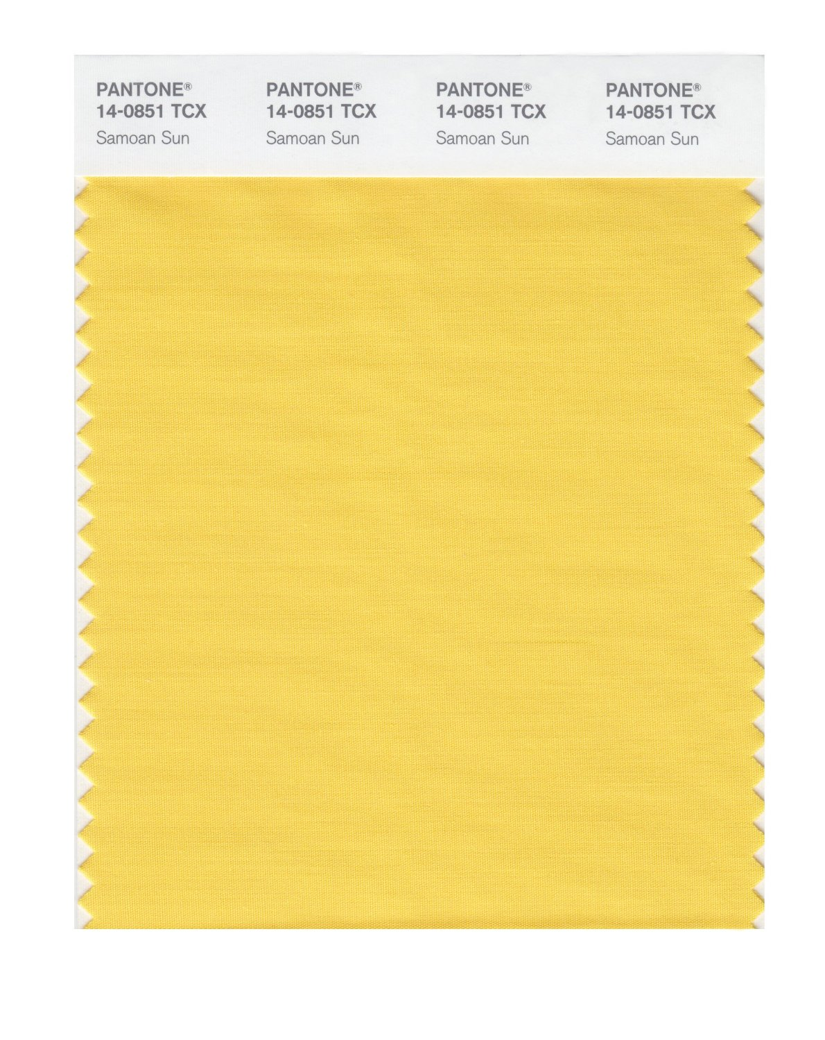 Pantone Smart Swatch 14-0851 Samoan Sun