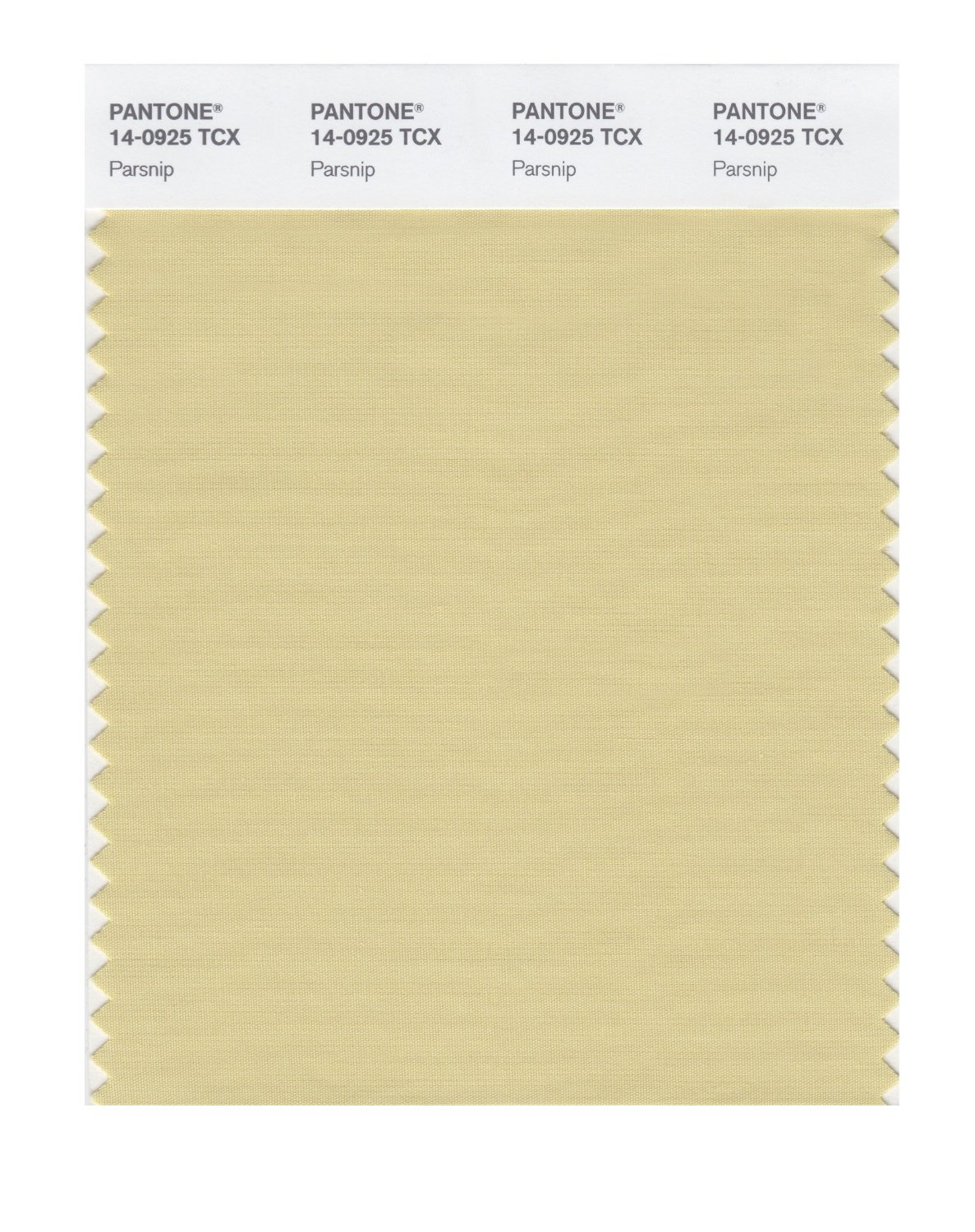 Pantone Smart Swatch 14-0925 Parsnip