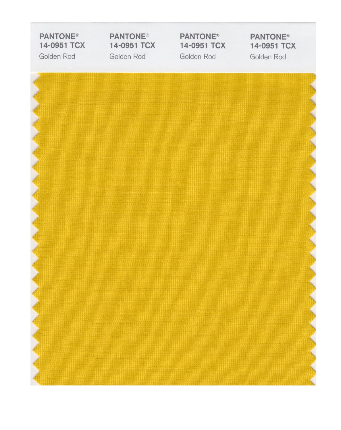 Pantone Smart Swatch 14-0951 Golden Rod