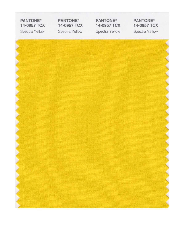 BUY Pantone Smart Swatch 14-0957 Spectra Yellow