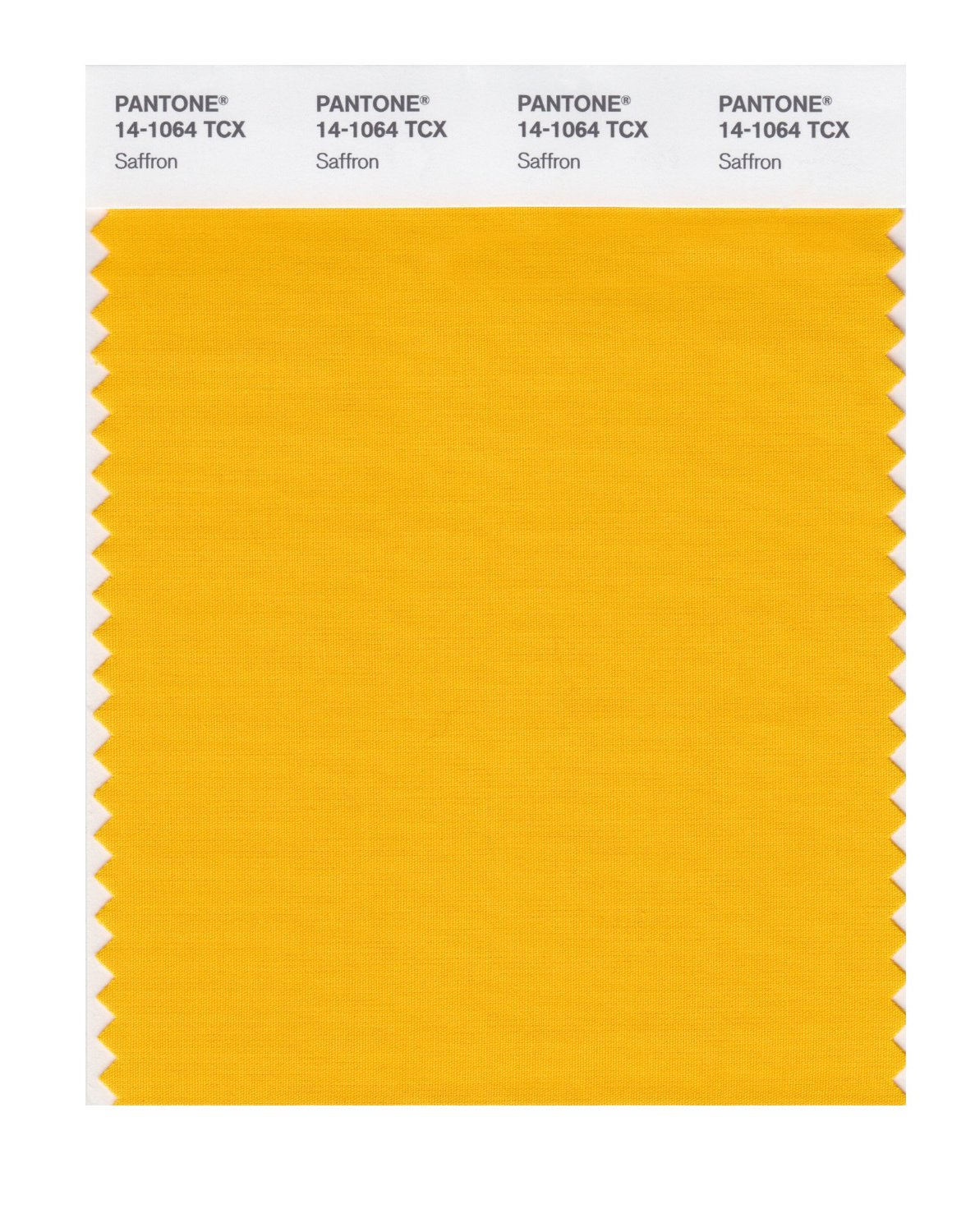 Pantone Smart Swatch 14-1064 Saffron