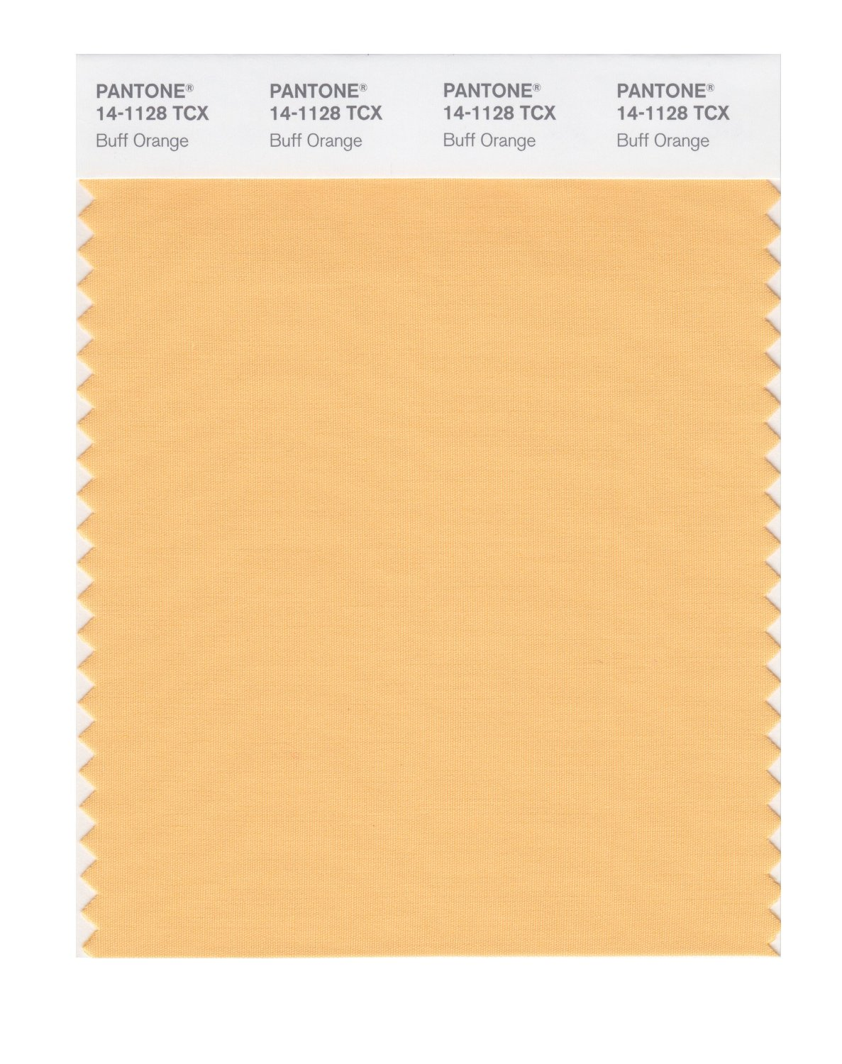 Pantone Smart Swatch 14-1128 Buff Orange