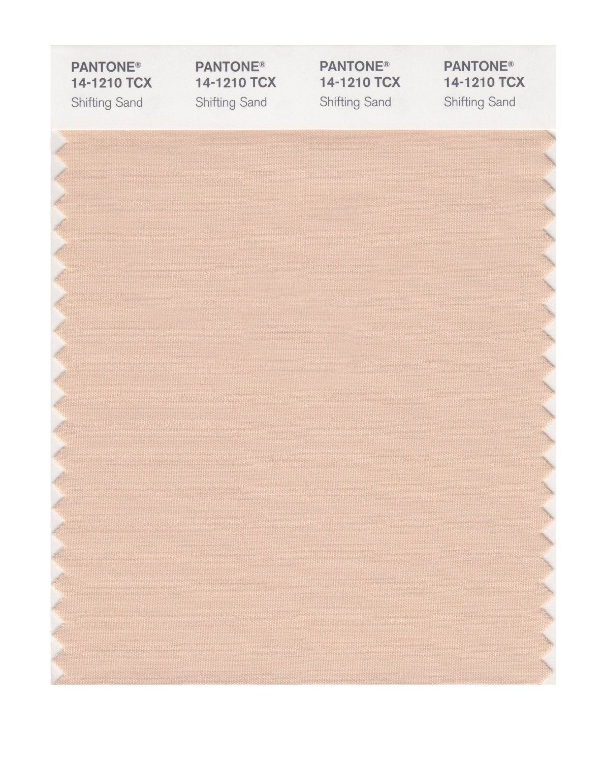 Pantone Smart Swatch 14-1210 Shifting Sand