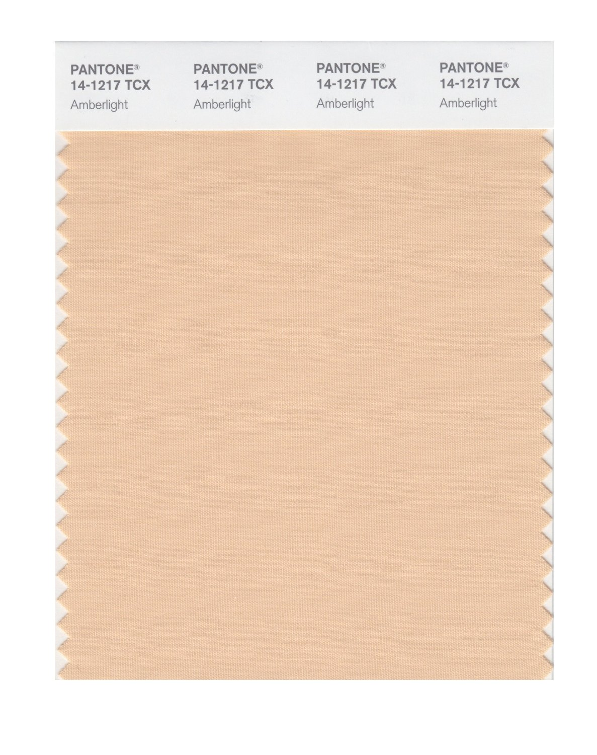 Pantone Smart Swatch 14-1217 Amberlight