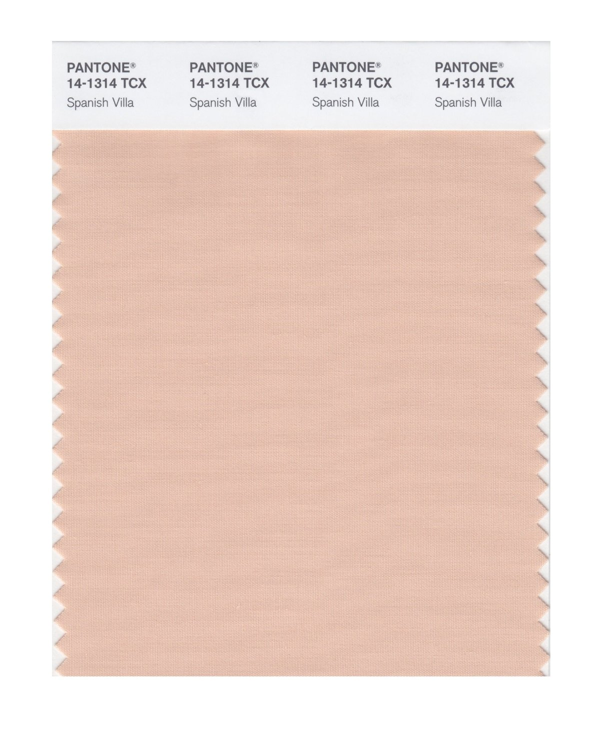 Pantone Smart Swatch 14-1314 Spanish Villa