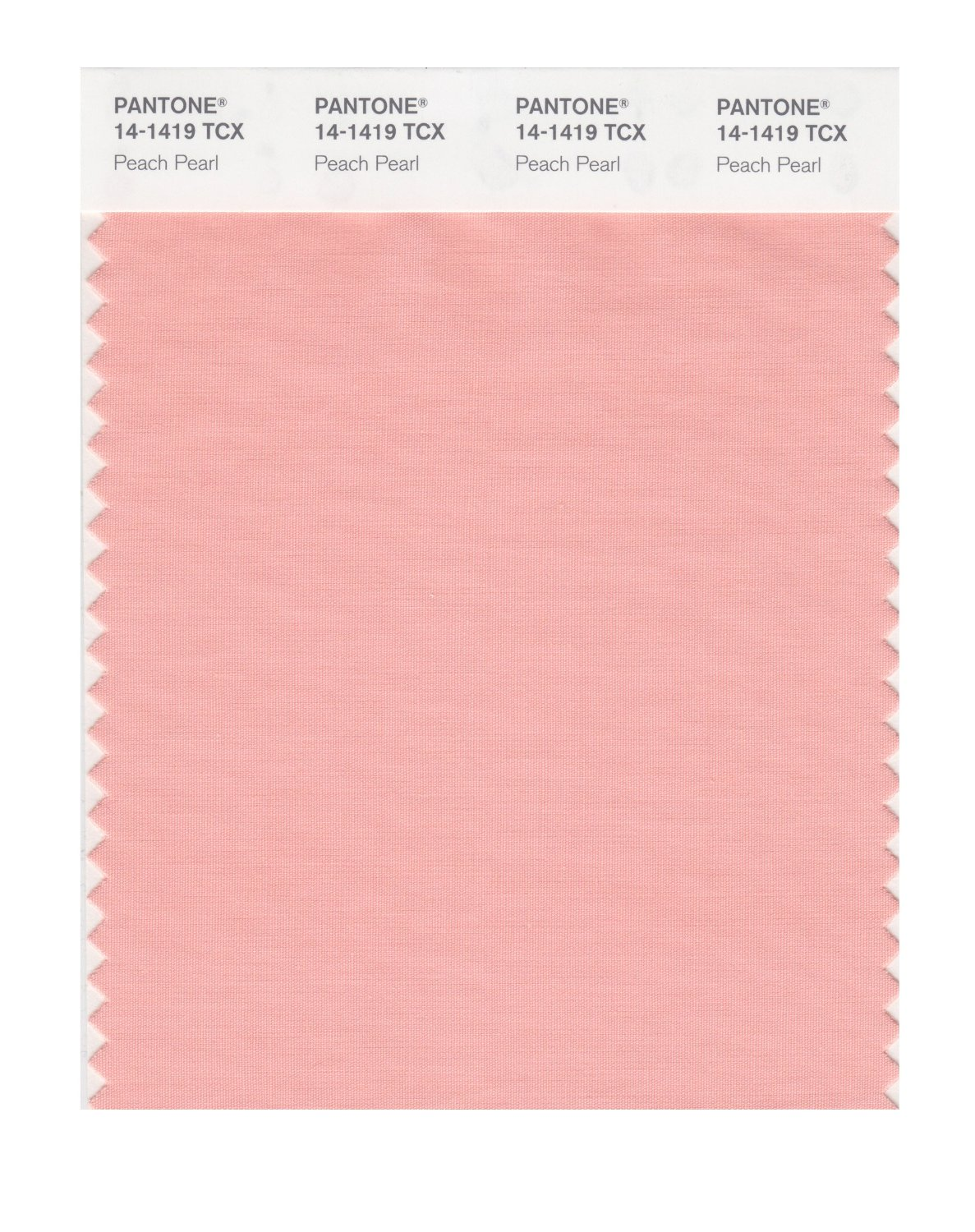 Pantone Smart Swatch 14-1419 Peach Pearl