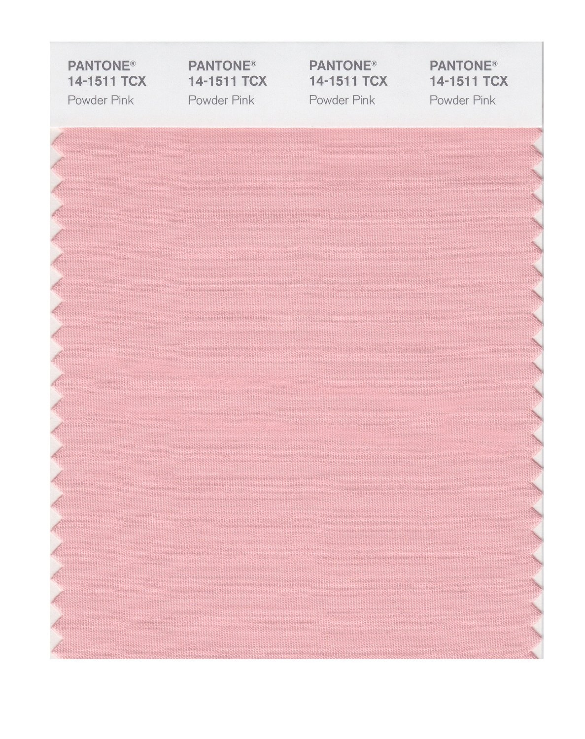 Pantone Smart Swatch 14-1511 Powder Pink
