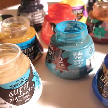 Speedball Inks