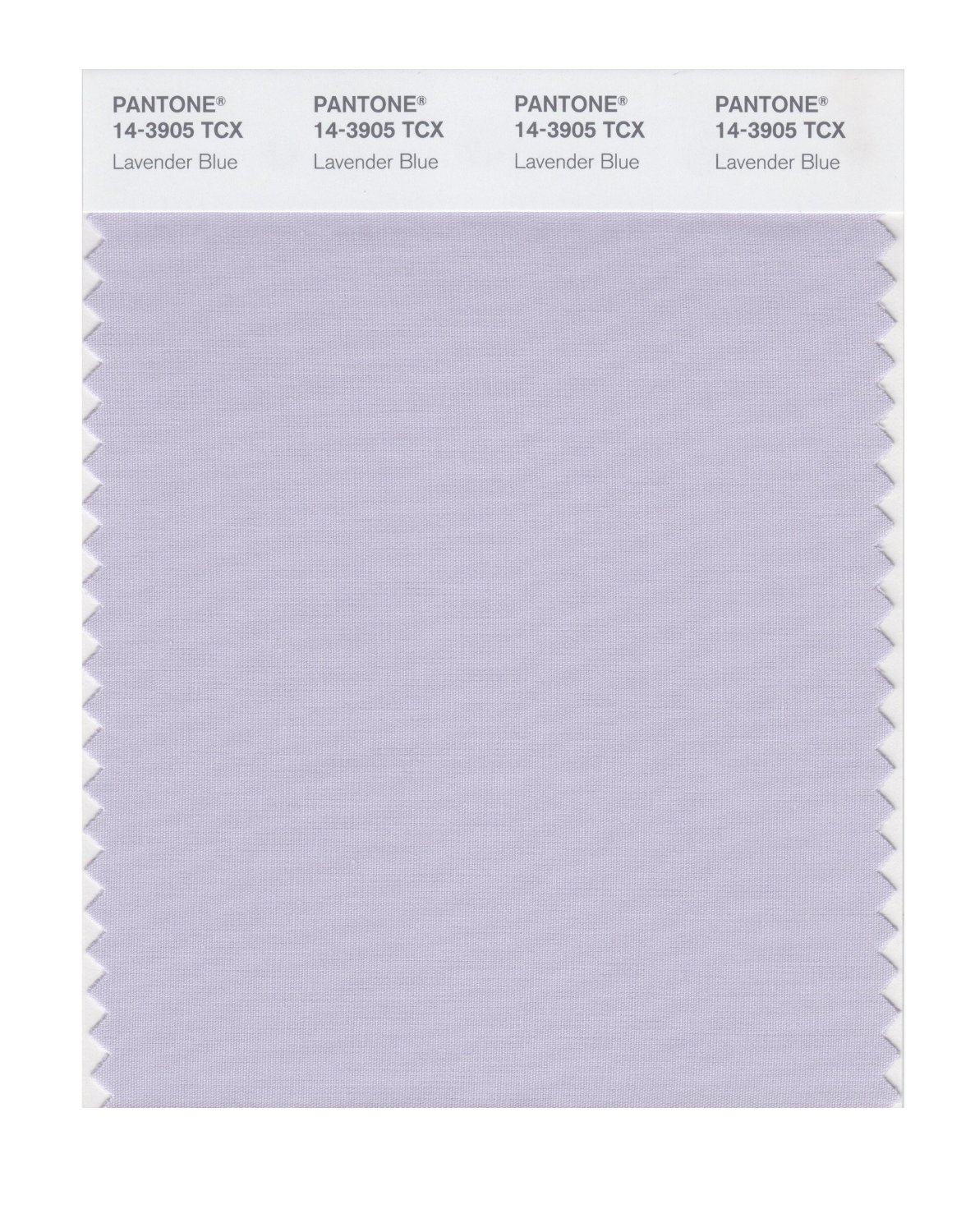Pantone Smart Swatch 14-3905 Lavender Blue