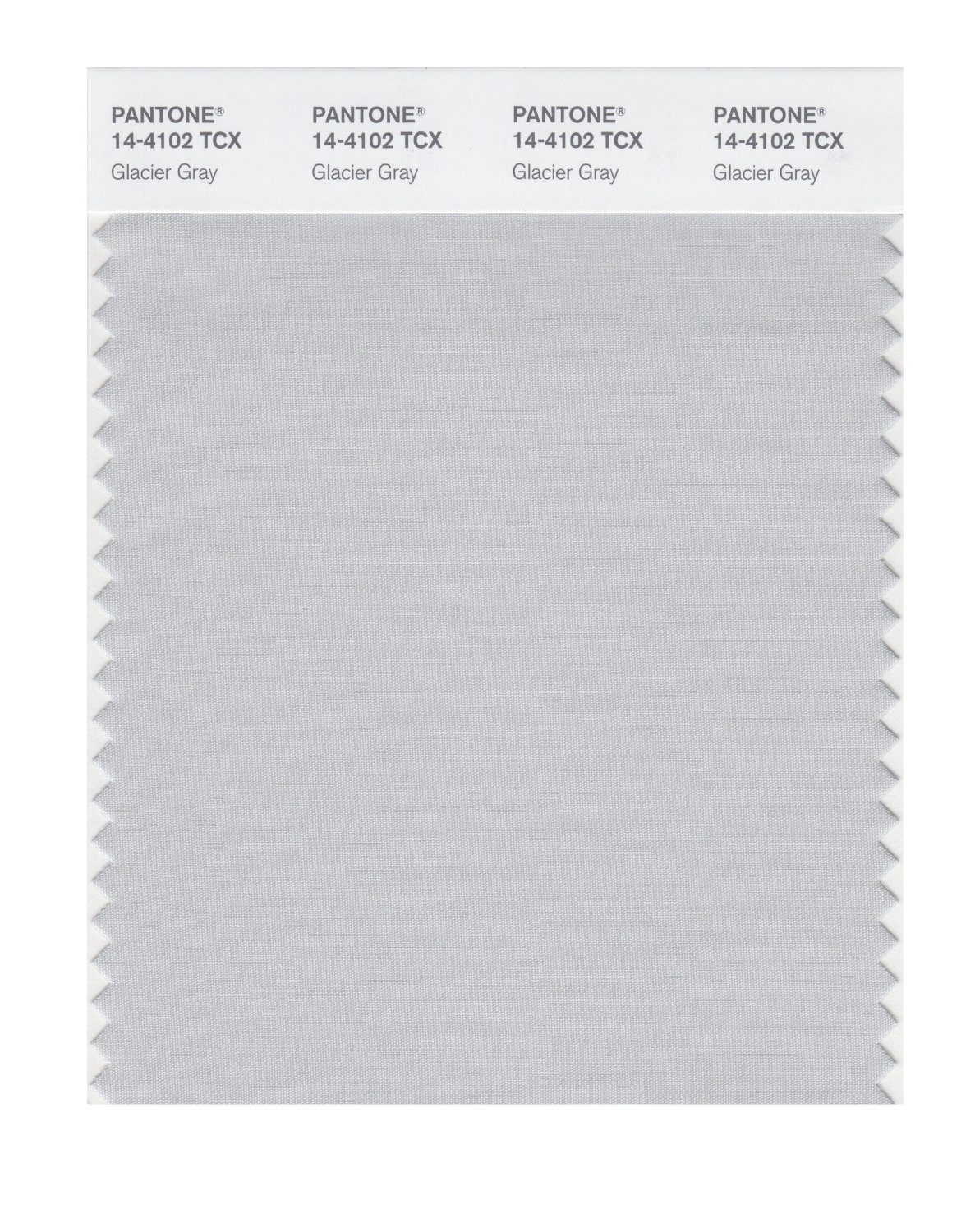 Pantone Smart Swatch 14-4102 Glacier Gray