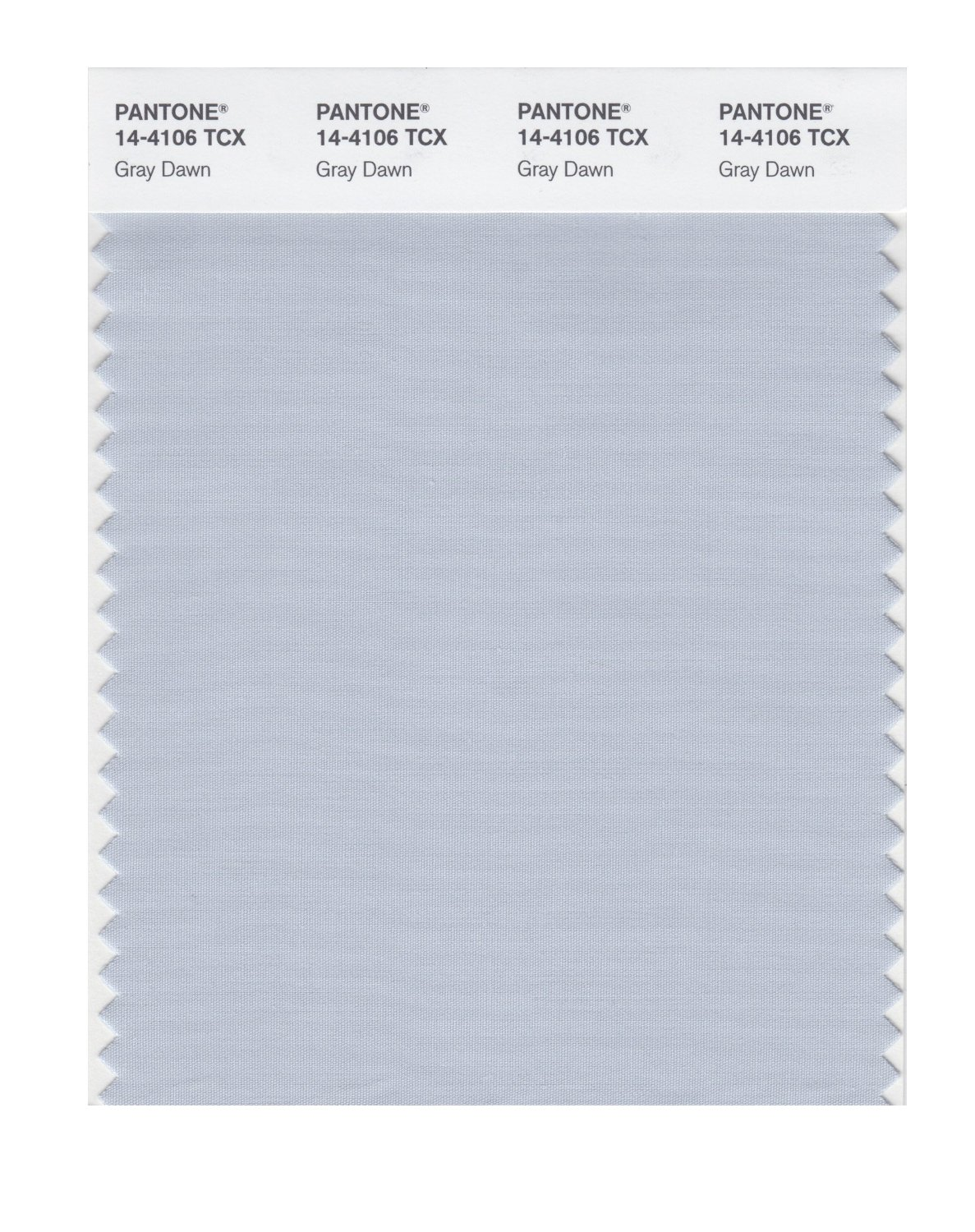 Pantone Smart Swatch 14-4106 Gray Dawn