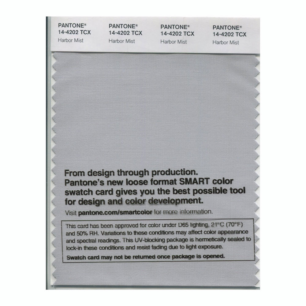 Pantone Smart Swatch 14-4202 Harbor Mist