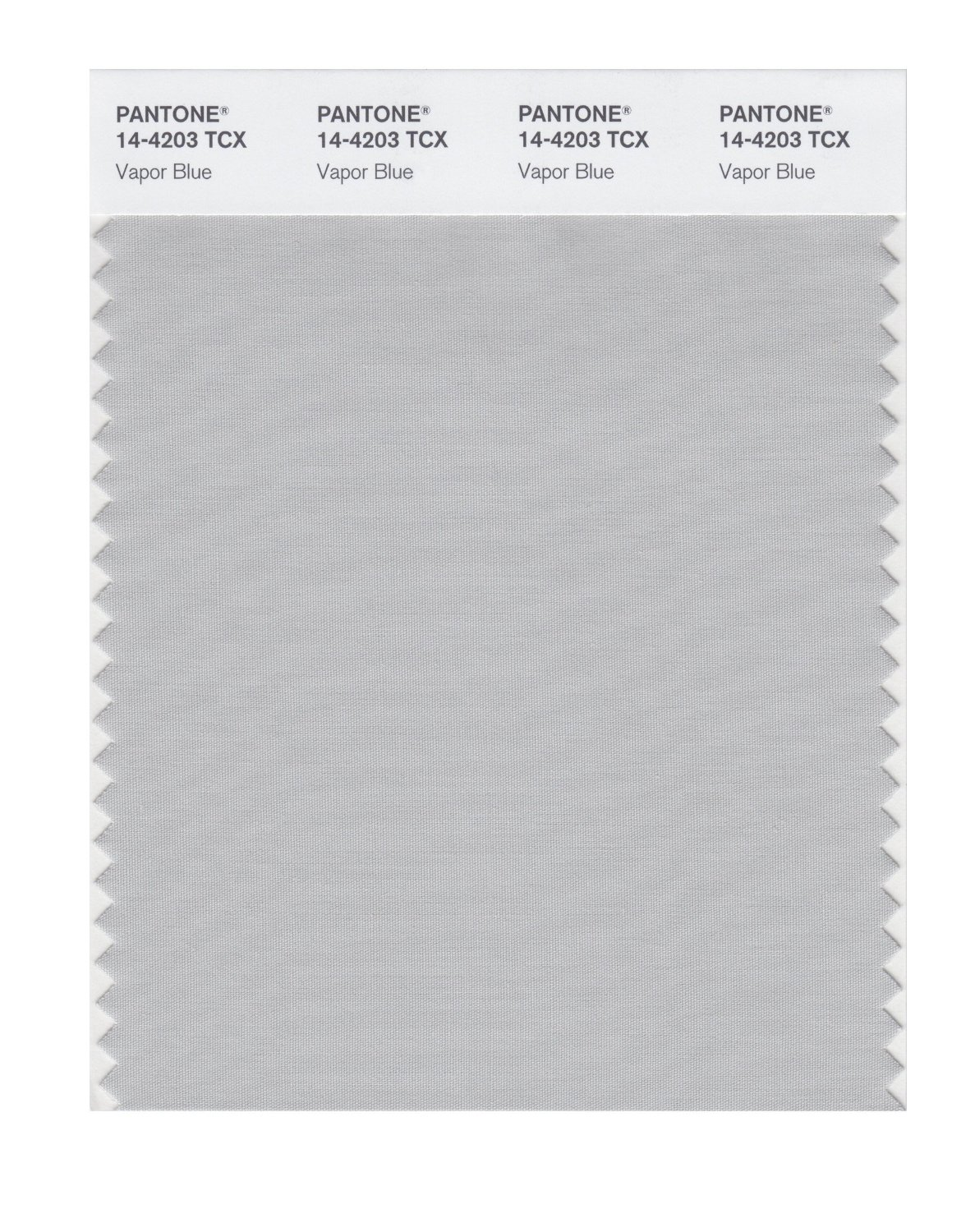 Pantone Smart Swatch 14-4203 Vapor Blue