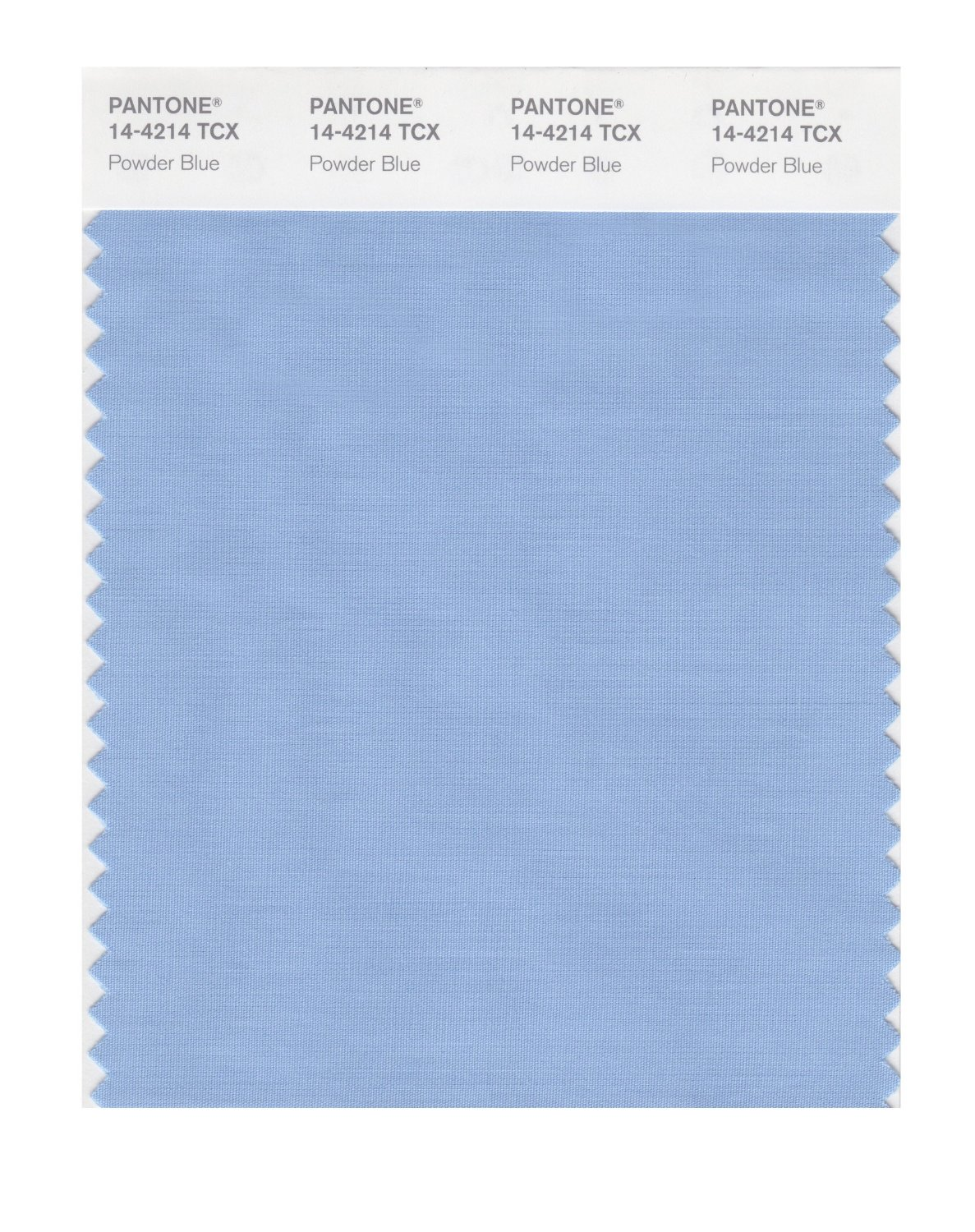 Pantone Smart Swatch 14-4214 Powder Blue