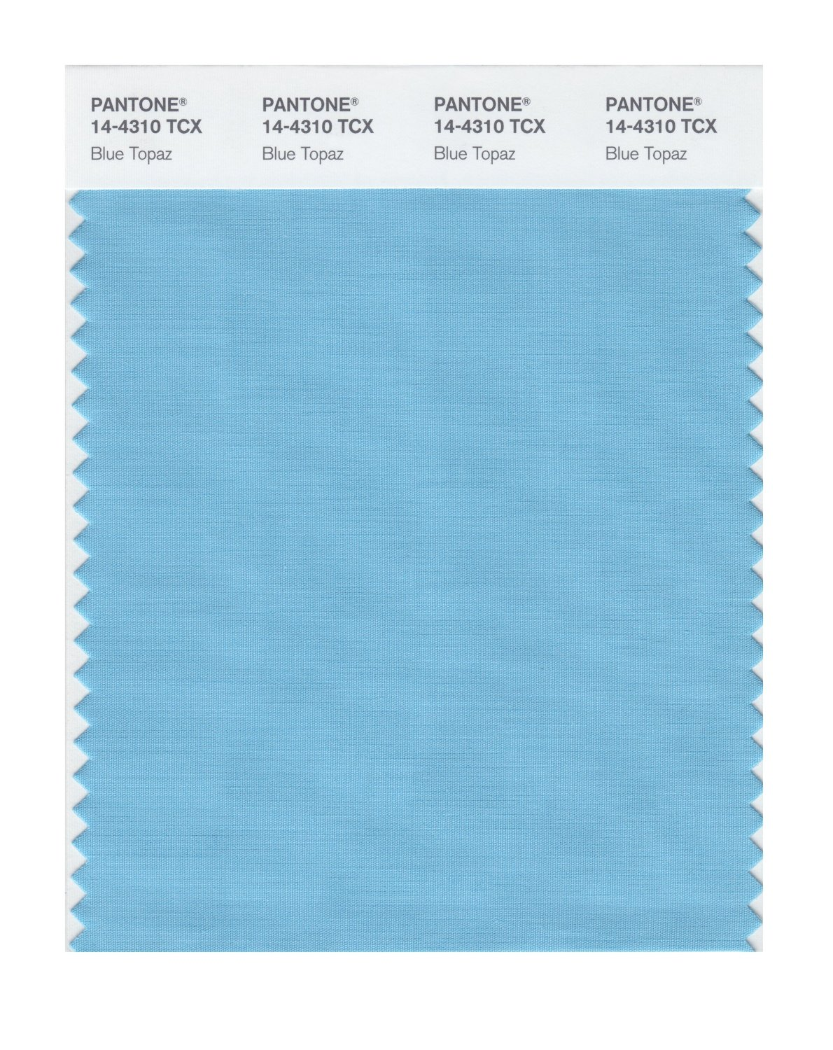 Pantone Smart Swatch 14-4310 Blue Topaz