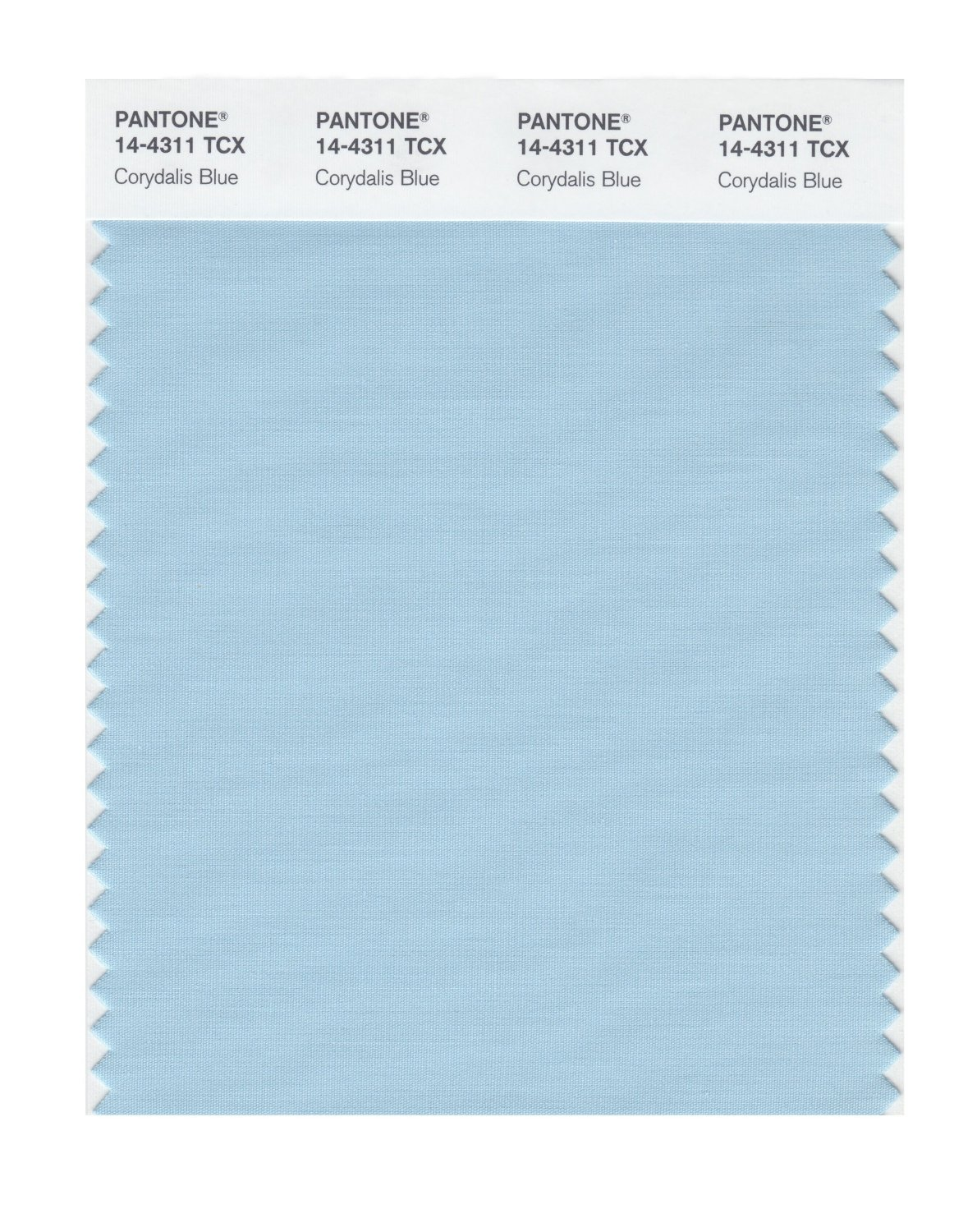 Pantone Smart Swatch 14-4311 Corydalis Blue
