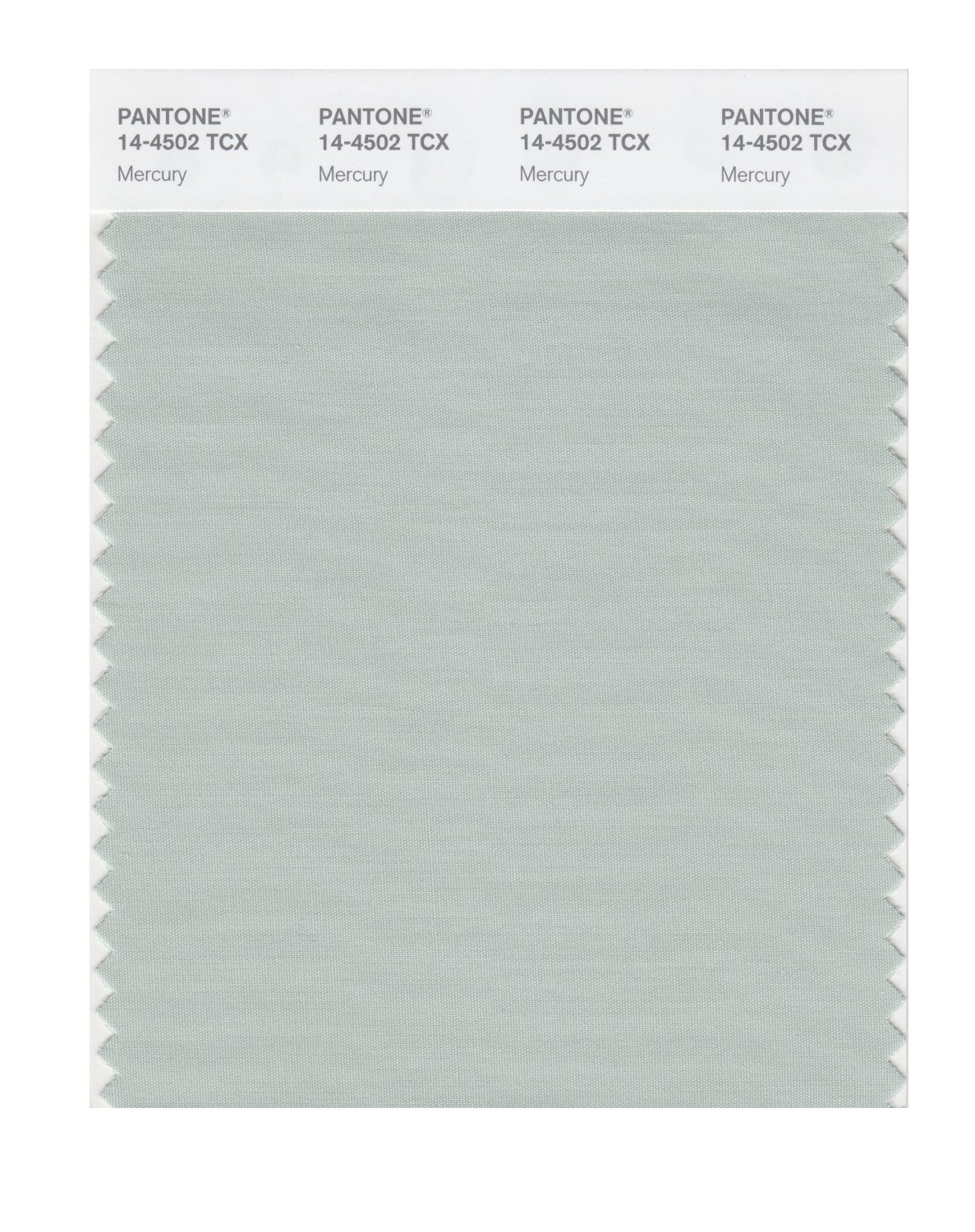Pantone Smart Swatch 14-4502 Mercury