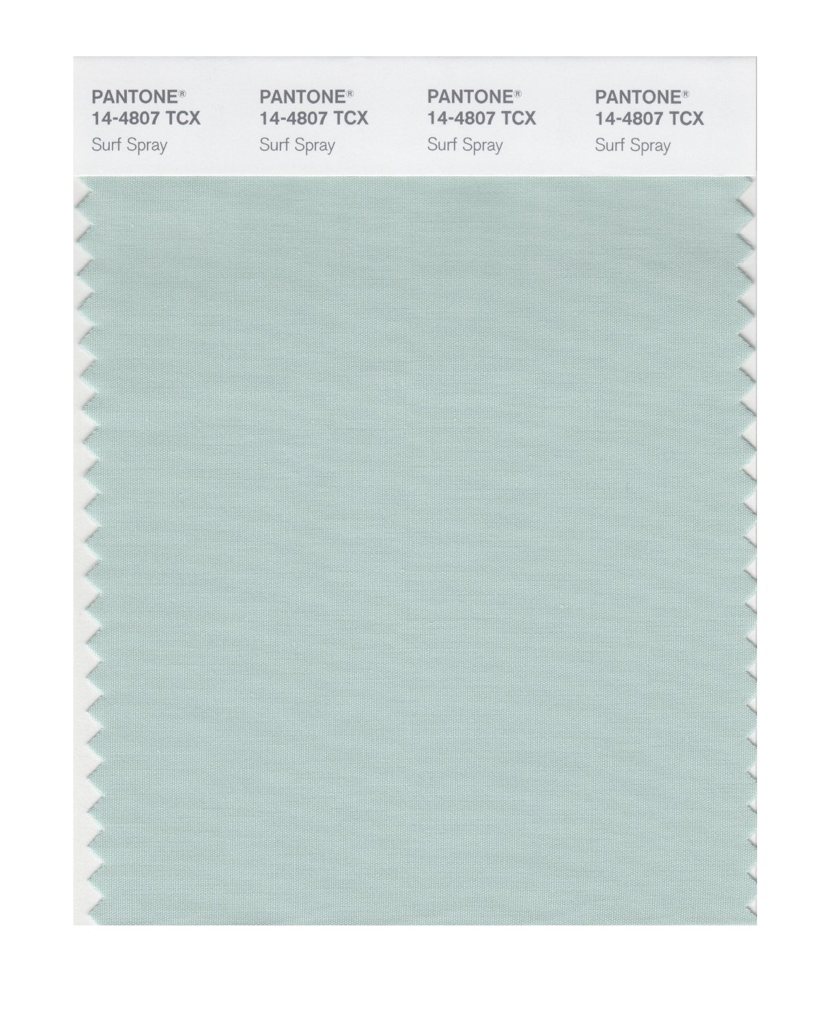 Pantone Smart Swatch 14-4807 Surf Spray