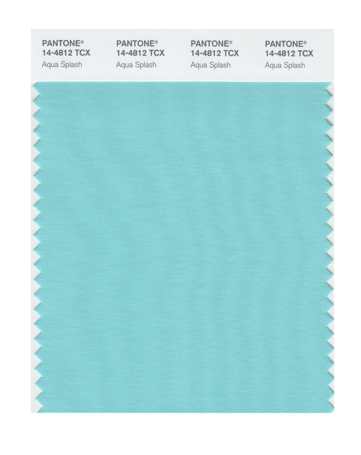 Pantone Smart Swatch 14-4812 Aqua Splash