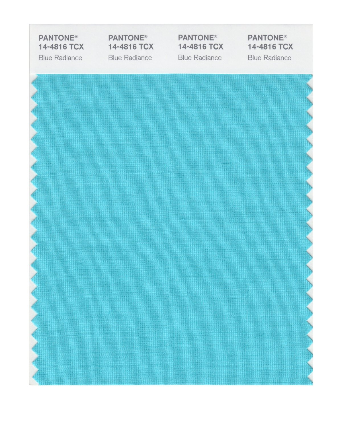 Pantone Smart Swatch 14-4816 Blue Radiance