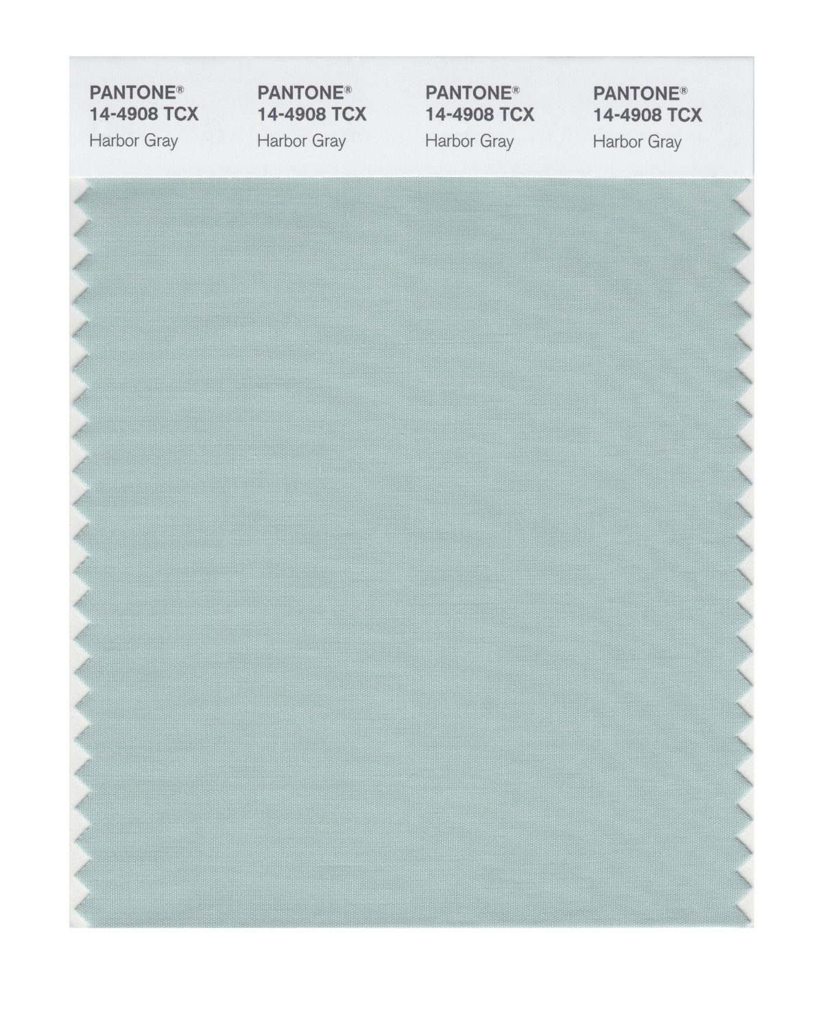 Pantone Smart Swatch 14-4908 Harbor Gray