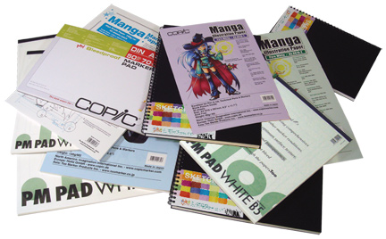 Copic Marker Pads & Sketchbooks