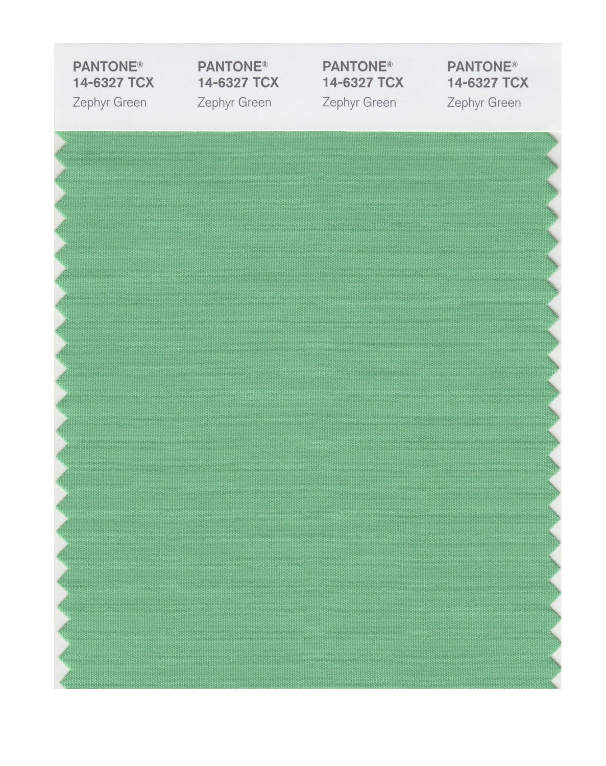 Pantone Smart Swatch 14-6327 Zephyr Green
