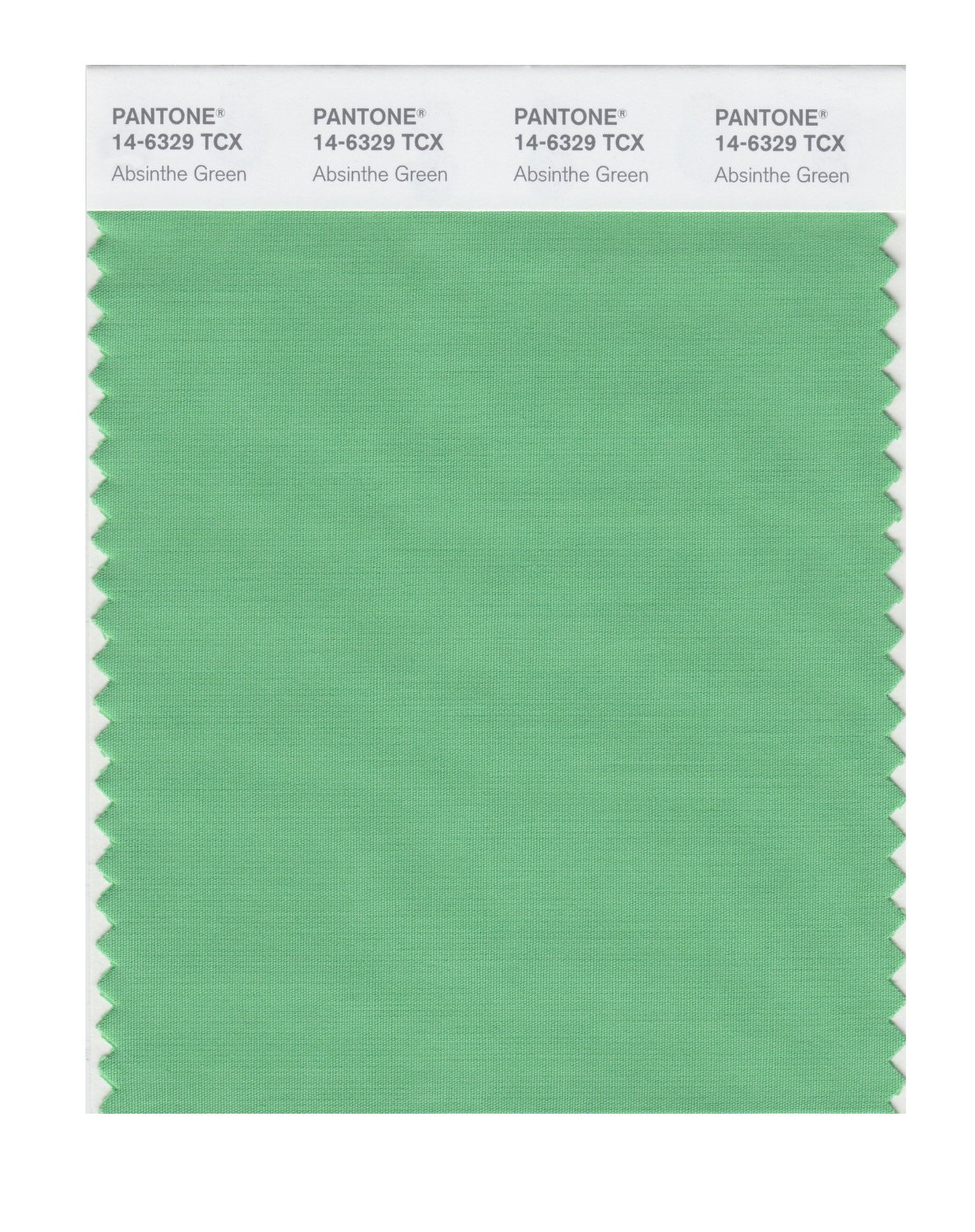 Pantone Smart Swatch 14-6329 Absinthe Green