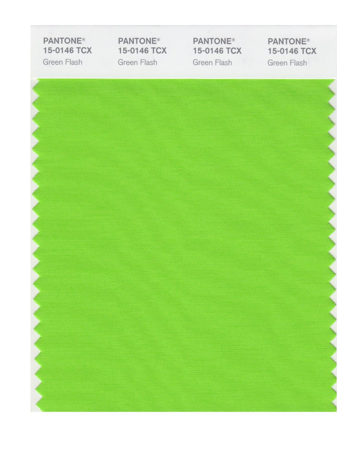 Pantone Smart Swatch 15-0146 Green Flash