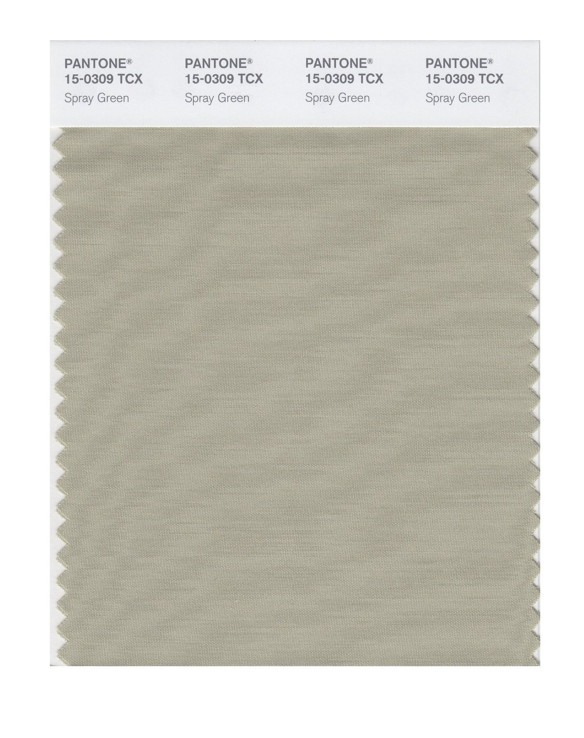 Pantone Smart Swatch 15-0309 Spray Green