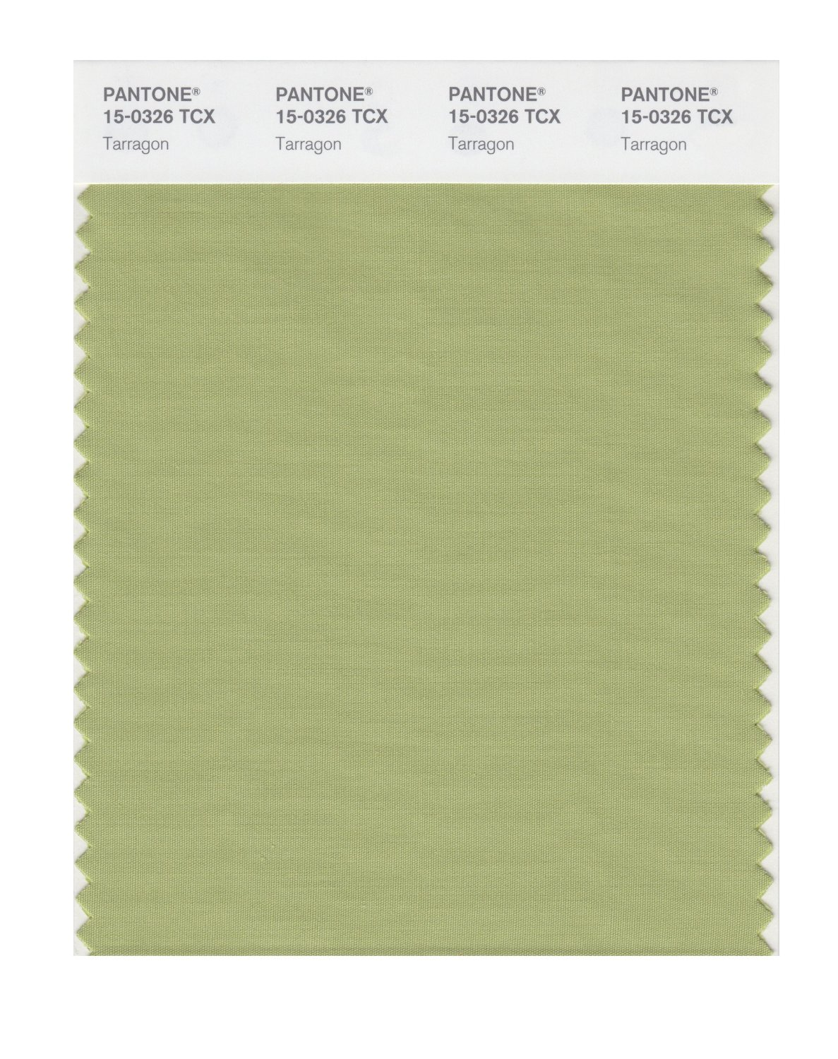 Pantone Smart Swatch 15-0326 Tarragon