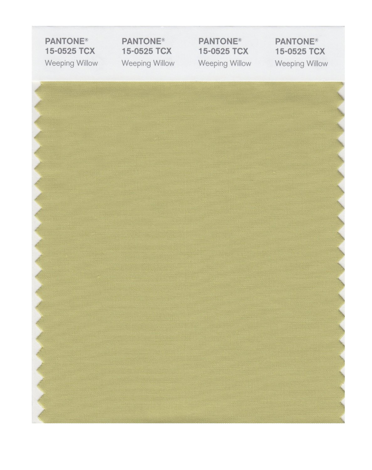 Pantone Smart Swatch 15-0525 Weeping Willow