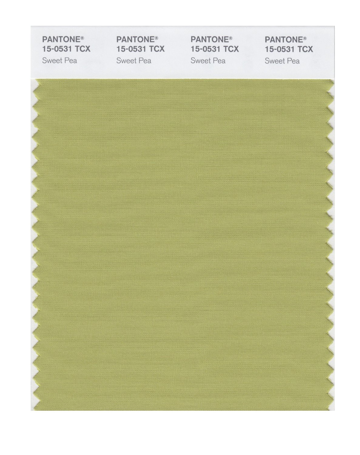 Pantone Smart Swatch 15-0531 Sweet Pea
