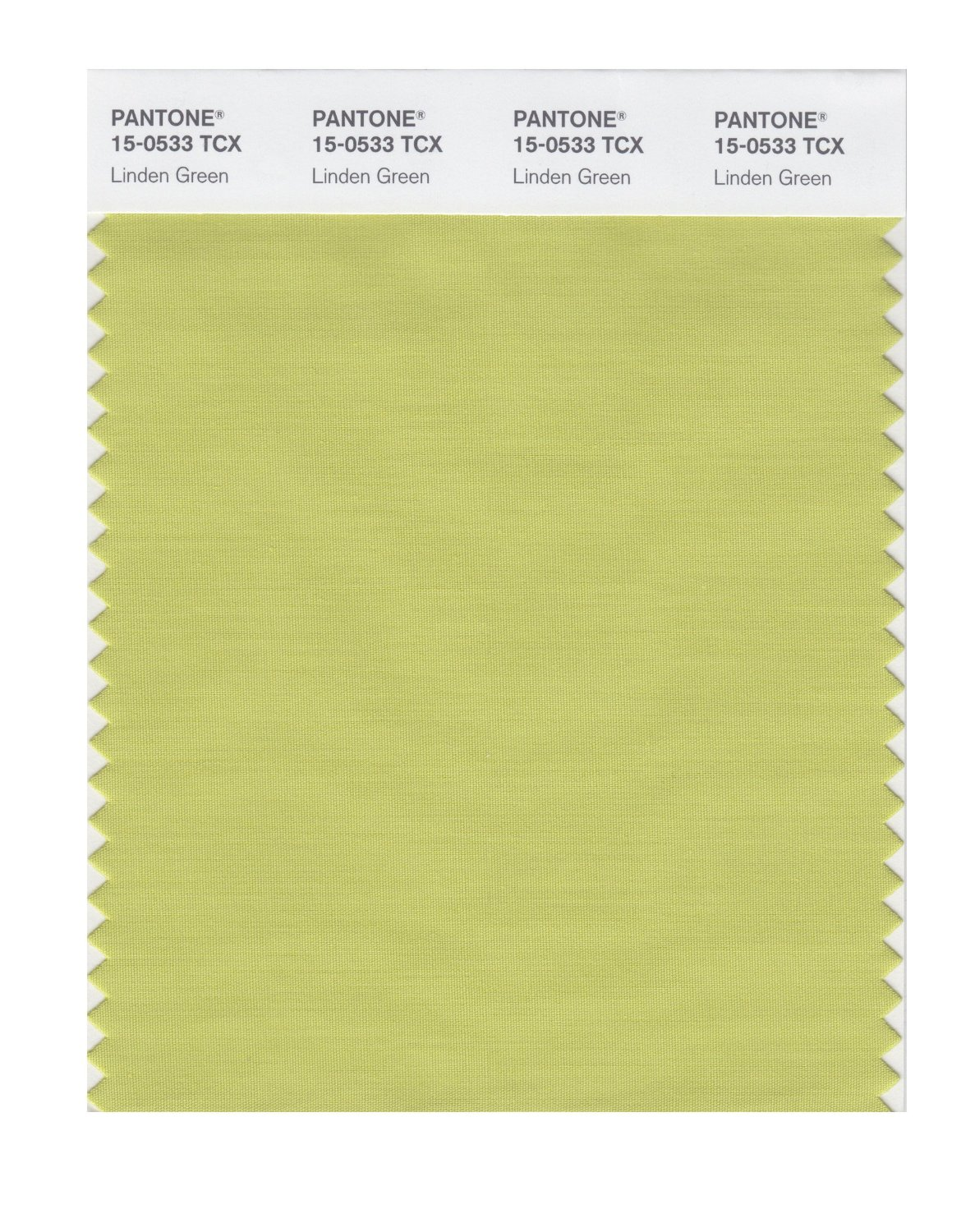 Pantone Smart Swatch 15-0533 Linden Green