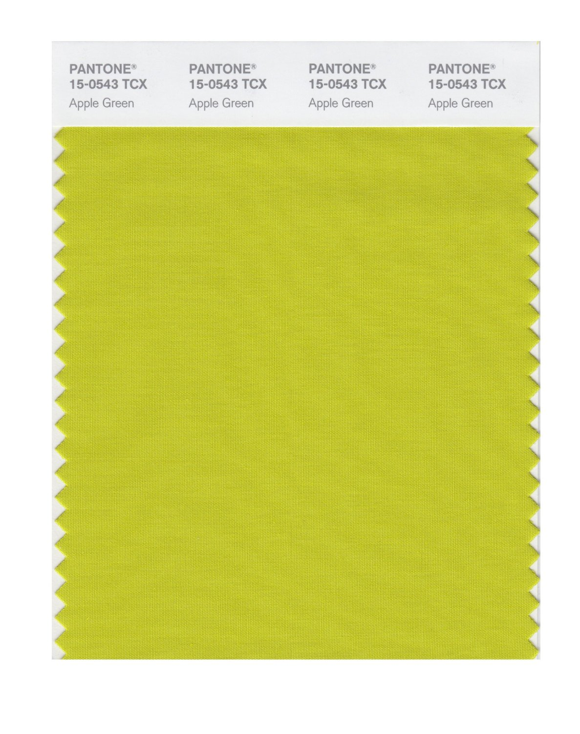 Pantone Smart Swatch 15-0543 Apple Green