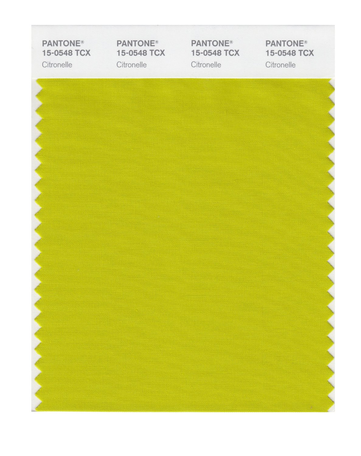 Pantone Smart Swatch 15-0548 Citronelle