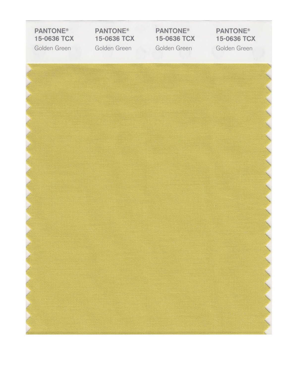 Pantone Smart Swatch 15-0636 Golden Green