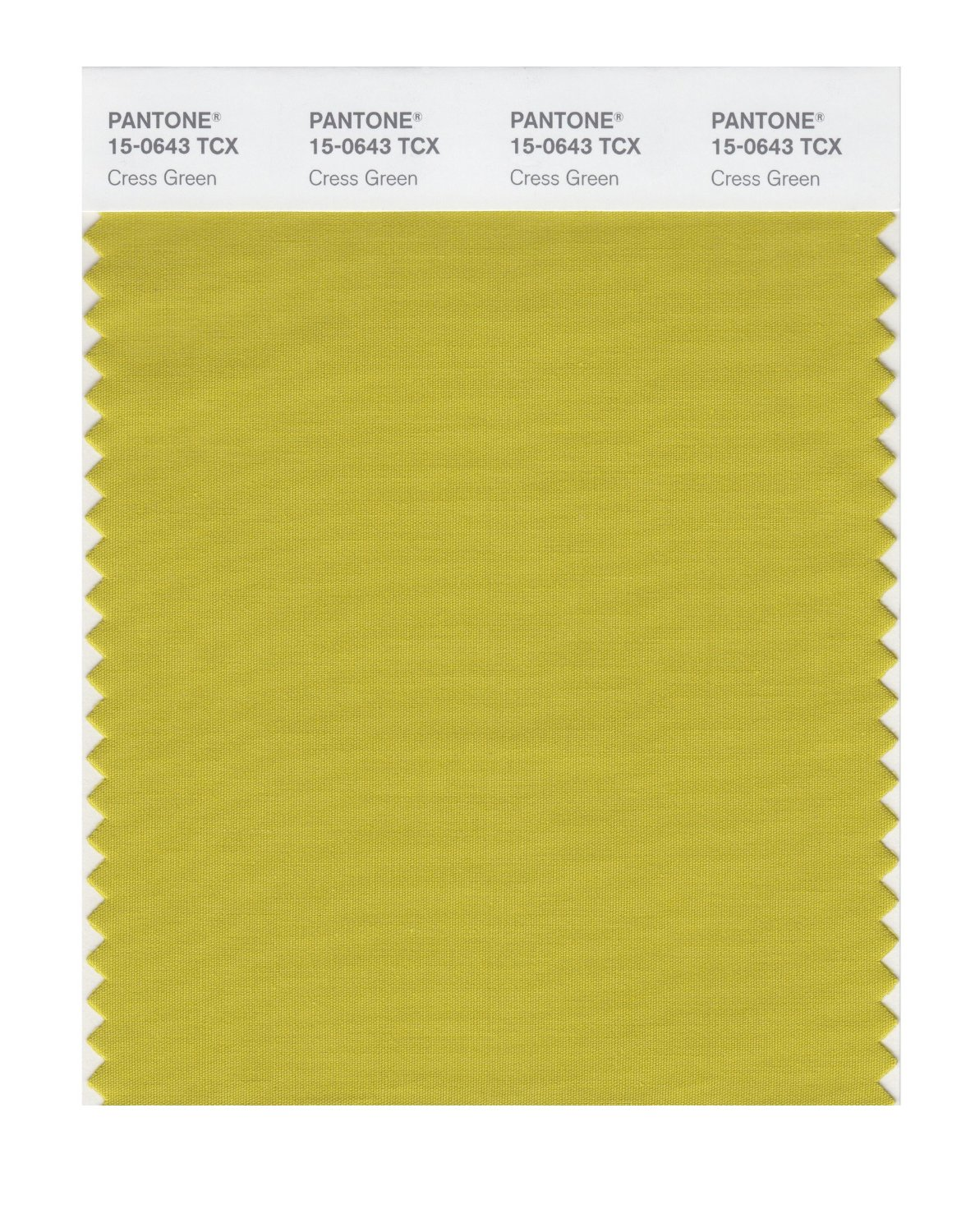 Pantone Smart Swatch 15-0643 Cress Green